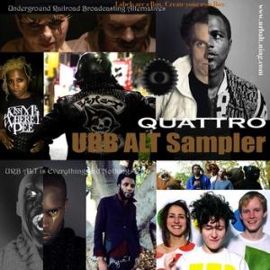 UrbAlt  Sampler Quattro cover