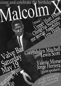 malcomX Birthday