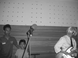 Chrissie at JSN Studio, Bekasi, Photo by Sawi Liew