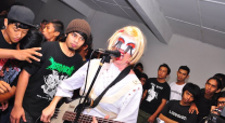 Chrissie at Arjuna, Photo by Anok Pakcik Abu