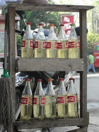 Bekasi scooter petrol station