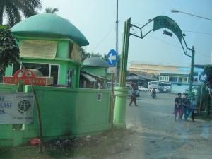 Leaving Bekasi by Bus