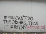 Graffiti seen on theSaturday