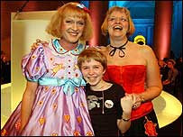 Grayson Perry and family