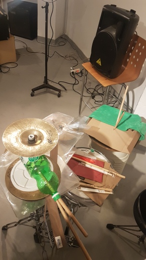 Prepared drums
