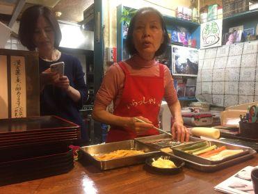 Sushi leason